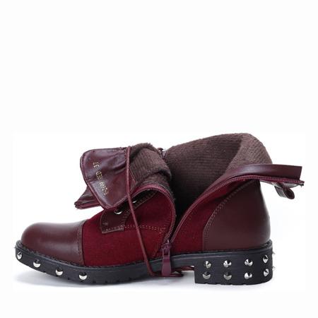 Adelan insulated maroon boots - Footwear