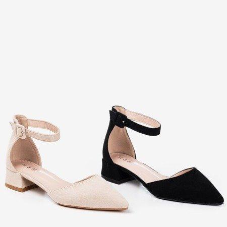 Beige women's flat ballerinas Tigrana - Footwear