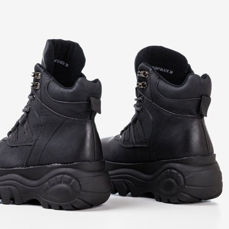 Black boots in sporty Gapostia style - Footwear