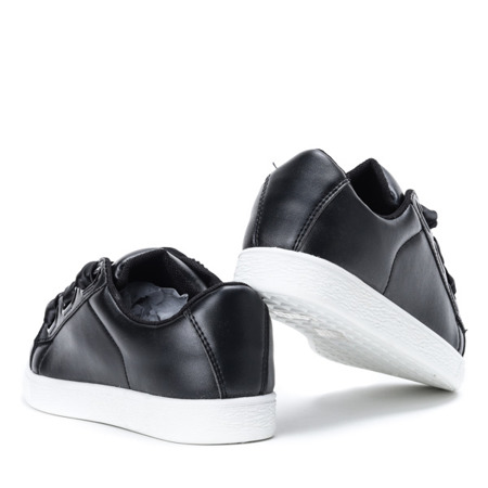 Black sport shoes with Maeve bow - Footwear