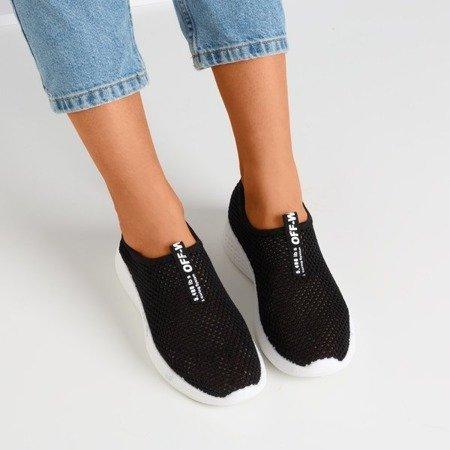 Black women's slip-on sports shoes - on Poliea - Footwear 1