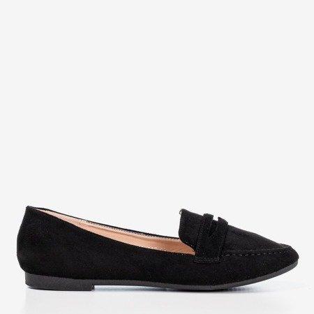 Black women's loafers Loures - Footwear 1