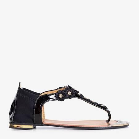Black women's sandals from Resyglapa - Footwear