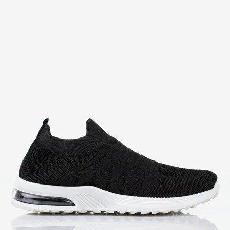 Black women's slip-on sport shoes on Brighta - Footwear 1