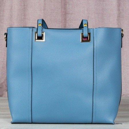 Blue large women's bag - Handbags 1