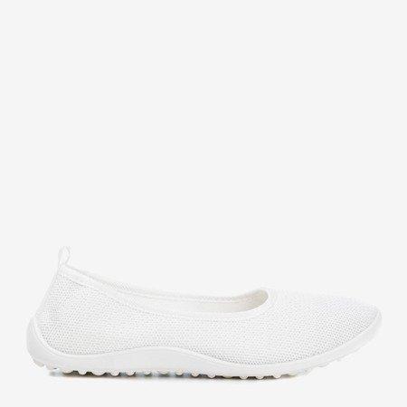 Calicija white women's slip-on sneakers - Footwear 1