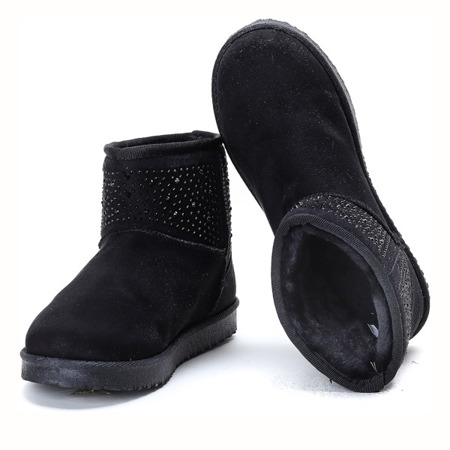 Emo black insulated snow boots - Footwear
