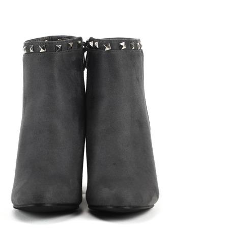 Gray suede boots - Footwear