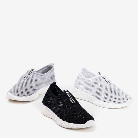 Gray women's slip-on sport shoes - on Poliea - Footwear 1