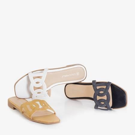 Inasa Black Women's Slippers - Footwear