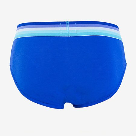 Men's blue panties - underwear