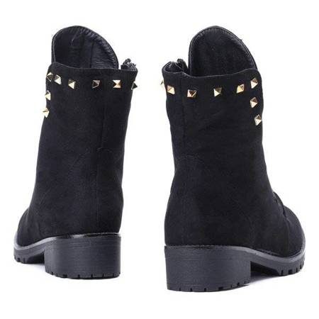 OUTLET Black bags with studs Joan- Shoes