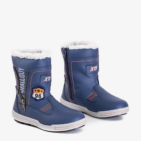 OUTLET Blue boys' snow boots Benin - Footwear
