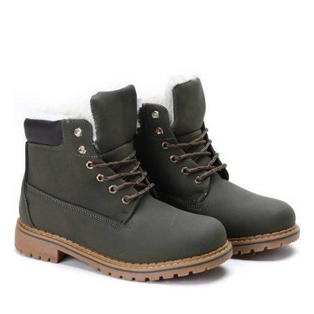 OUTLET Green boots Fantasy - Shoes