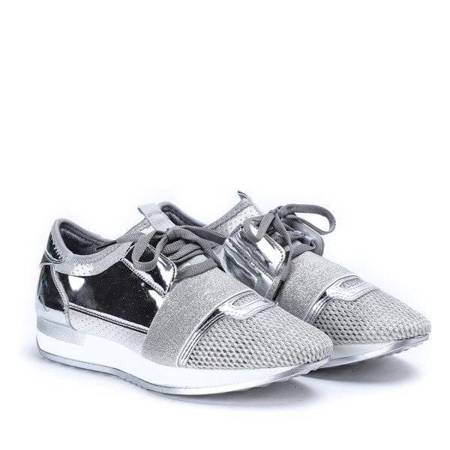 OUTLET Musah silver trainers - Footwear
