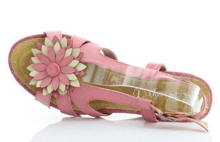 OUTLET Pink Floggina wedge sandals - Shoes