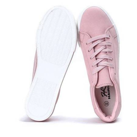 OUTLET Sports shoes made of ecological leather Elia - Footwear