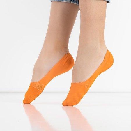 Orange women's socks - Socks