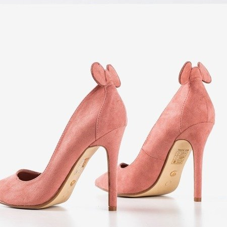 Pink pumps on a high heel with ears Felisiti - Footwear