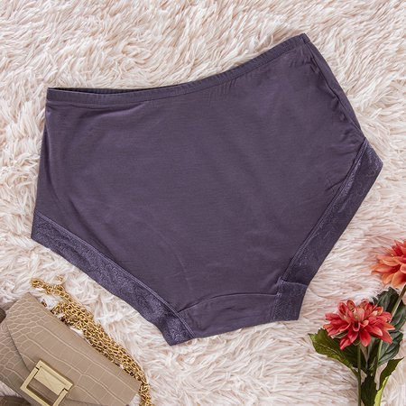 Purple Women's Briefs Panties - Underwear