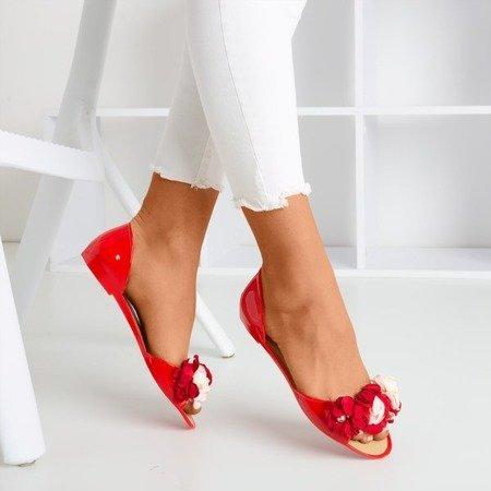 Red meliski flowers with Labada flowers - Footwear