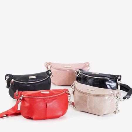 Red small kidney bag - Handbags