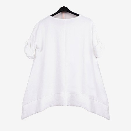 White women's tunic - Blouses 1