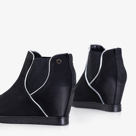 Women's black ankle boots Taisa - Shoes