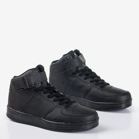 Women's black high-top trainers Celleste - Footwear