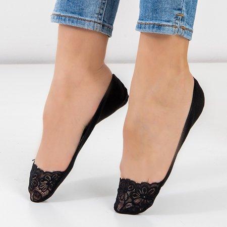 Women's black lace socks - Socks