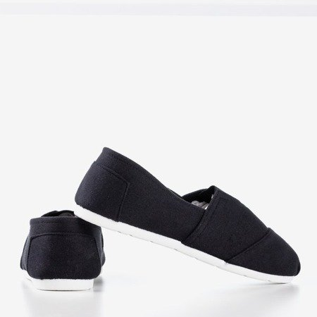 Women's black slip-on sneakers Slavarina - Footwear