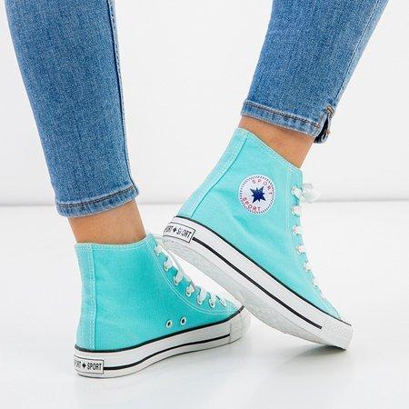 Women's blue high-top sneakers Inter - Footwear