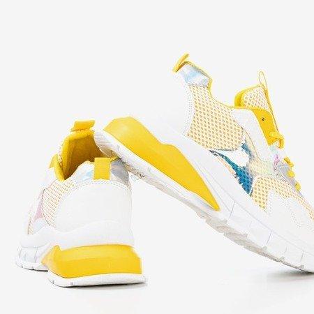 Yellow Women's Spring Day Sneakers - Footwear