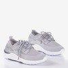 Apolsie gray women's sports shoes - Footwear 1