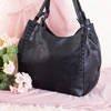 Black large women's bag - Handbags