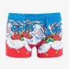 Men's Blue Christmas Boxer Shorts - Underwear