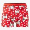 Men's Pug Christmas Boxer Shorts - Underwear