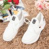 White women's sports shoes with shiny Murcia inserts - Footwear 1